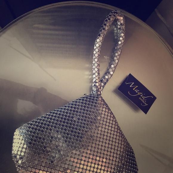 Magid evening Handbags - Silver Evening Bag